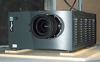 Mirage 5000, a DLP projector made by Christie ...