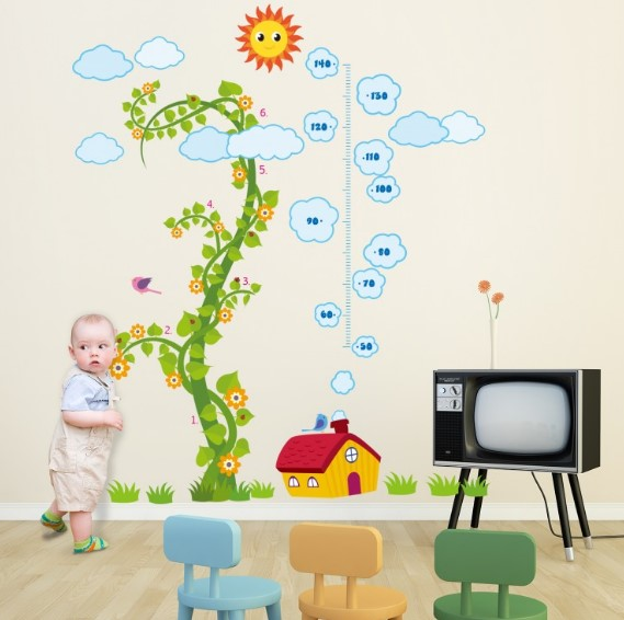 Keep Your Kid's Environment Toxin-Free with Children's Wall Stickers